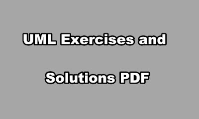UML Exercises and Solutions PDF