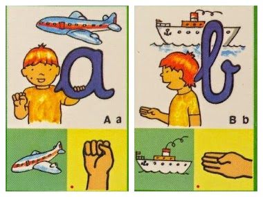 Alfabeto dactilológico infantil