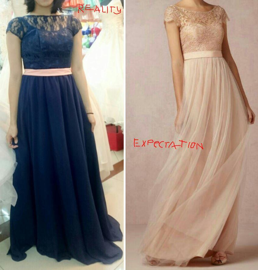 Wedding Entourage Gowns: Camille's Boutique 168 Mall, Divisoria: Horrible Wedding
