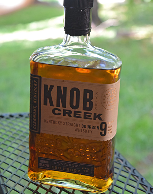 Grilled Pork Chops with Knob Creek® Bourbon Mustard Sauce on the Oklahoma Joe's® Rider DLX