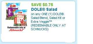 dole salad blends coupons
