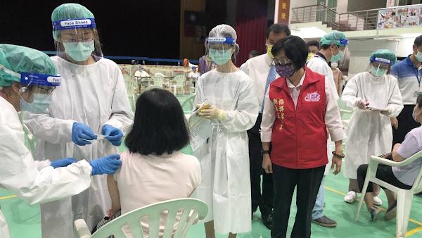 彰化縣國小教職員工即將施打完成 疫苗涵蓋率已達25%以上