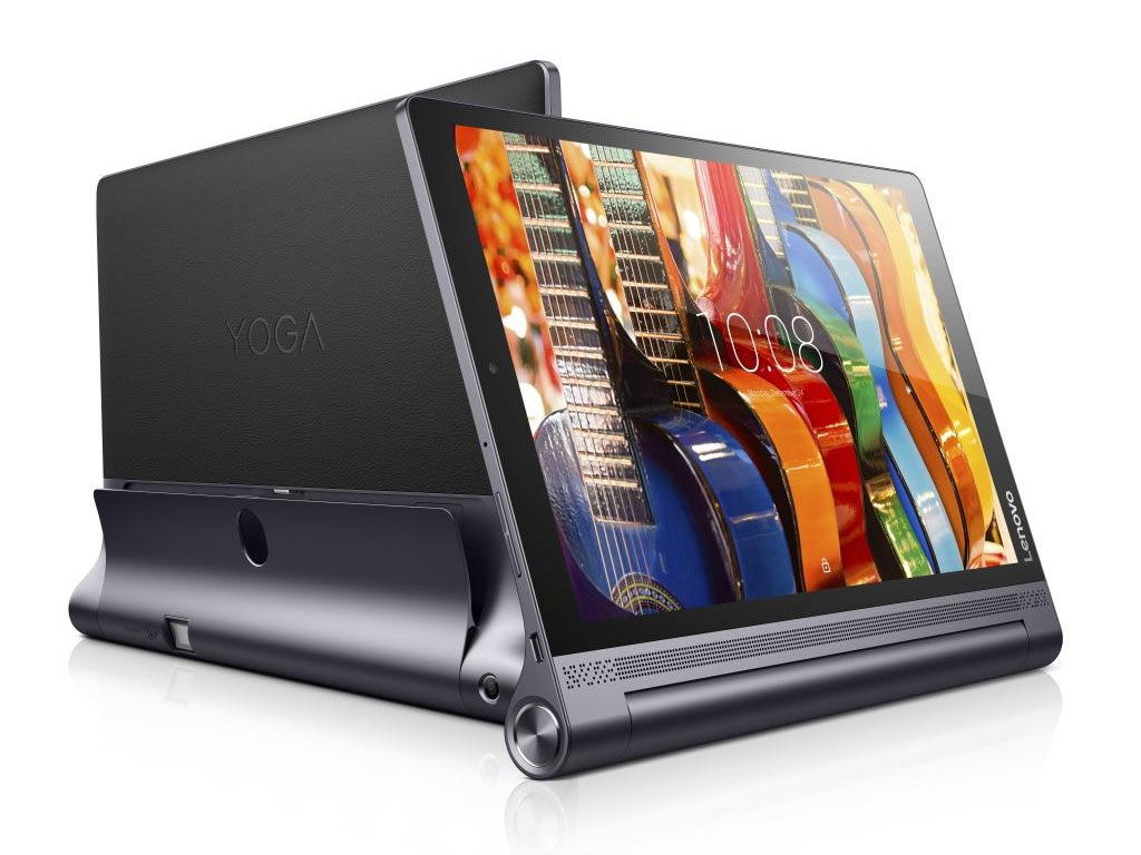 Lenovo Yoga Tab 3 Pro front and back