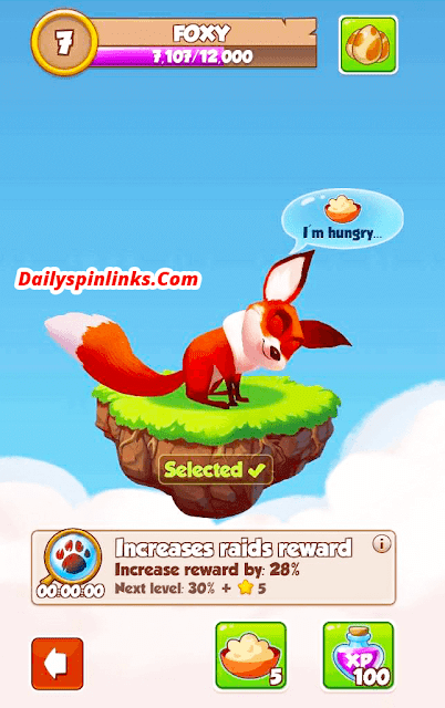Foxy in coin master