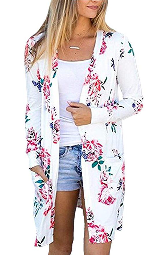 Coat Tops Outwear - White