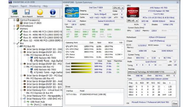 أفضل البرامج لقياس درجة حرارة الكمبيوتر