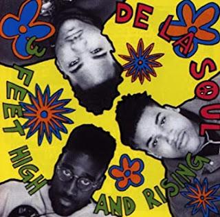 """ALBUM: portada de """"3 Feet High and Rising"""" por DE LA SOUL"""