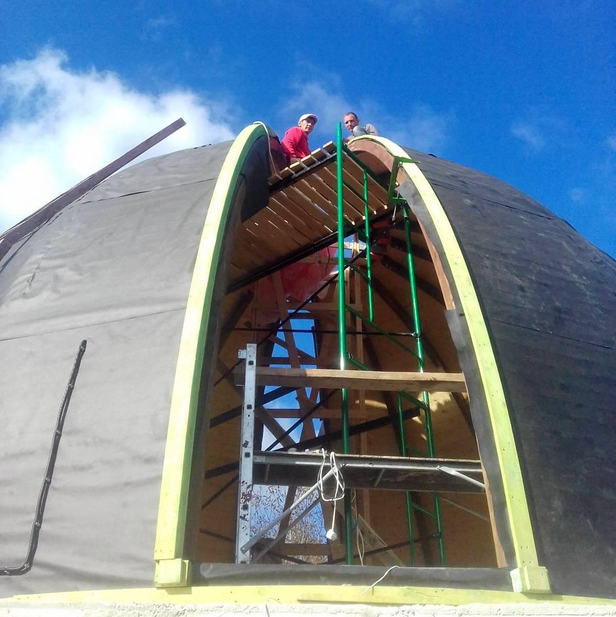 Дом купол Севастополь, Крым