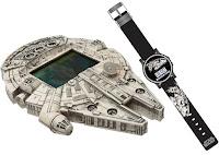 6620225a868 Star Wars - Millenium Falcon e Relógio - Mini Game - 2017