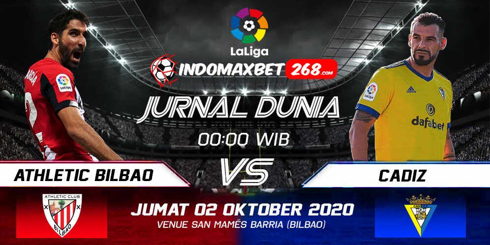Prediksi Athletic Bilbao Vs Cadiz 02 Oktober 2020 Pukul 00.00 WIB