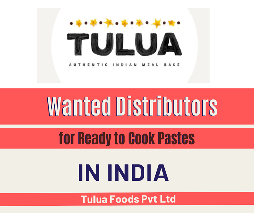 Wanted Distributors for Ready to Cook Gravy Pastes & Marinades Products in India