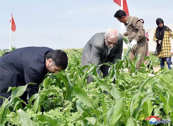 Iranian Diplomats at Friednship Labor