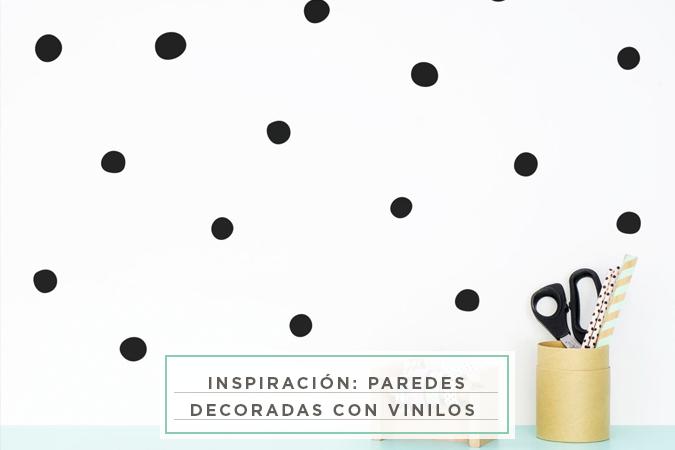 Inspiraci n paredes decoradas con vinilos mlcblog - Paredes decoradas con vinilos ...