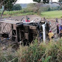 Aumenta a 5 los muertos en accidente de tránsito en San Juan de la Maguana