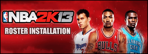 NBA 2K13 Tutorial: How to Install Roster Updates - NBA2K ORG