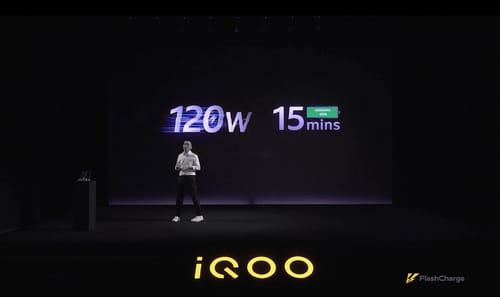 IQOO introduces FlashCharge 120W