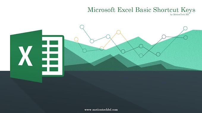 Microsoft Excel Basic Shortcut Keys