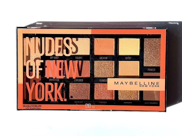maybelline nudes of new york far paletini inceliyorum 9