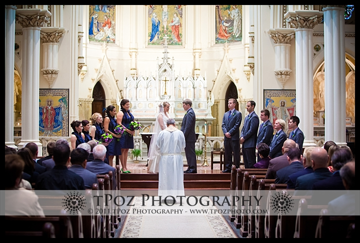 Corpus Christi Church Baltimore Wedding Photo