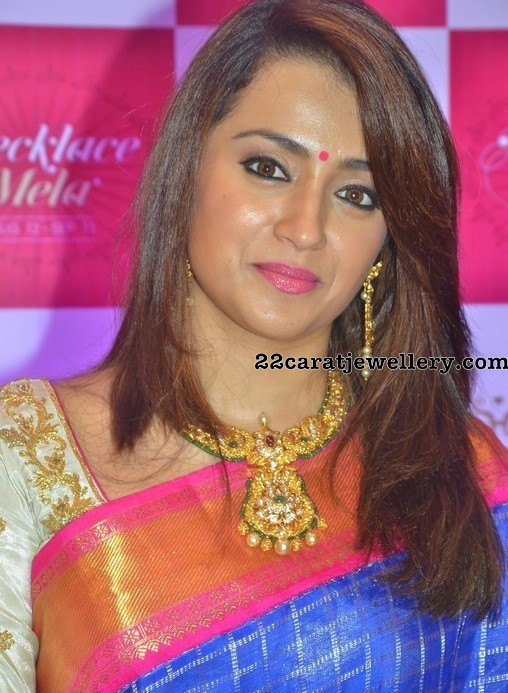 Trisha Antique Necklace and Bangles