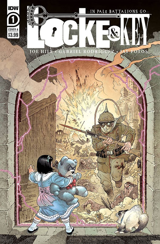 Cover of Locke & Key: In Pale Battalions Go #1