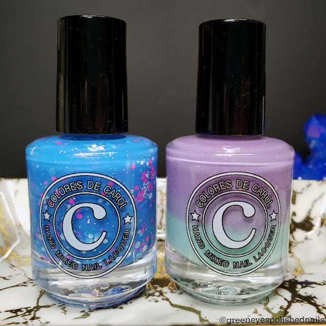 Colores de Carol May 2020 BlurpleWinkle Customs