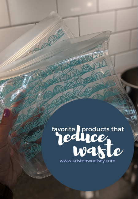 Favorite Products That Help Reduce Waste | www.kristenwoolsey.com