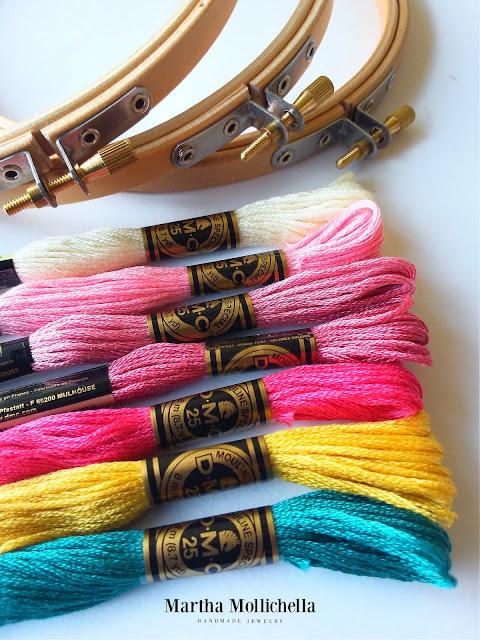 Martha Mollichella embroideries