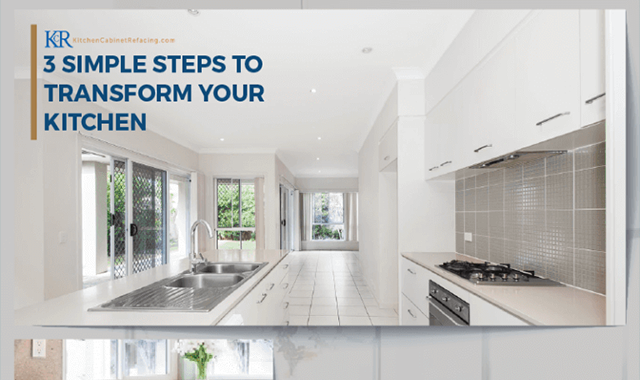 3 Simple Steps to Transform Your Kitchen #infographic