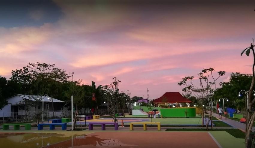 Taman RPTRA Cikarang Timur Ruang Publik Terbuka Ramah Anak