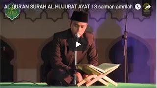 Ngaji Alquran - Satu ayat Sehari 2 (QS alhujorot 13)