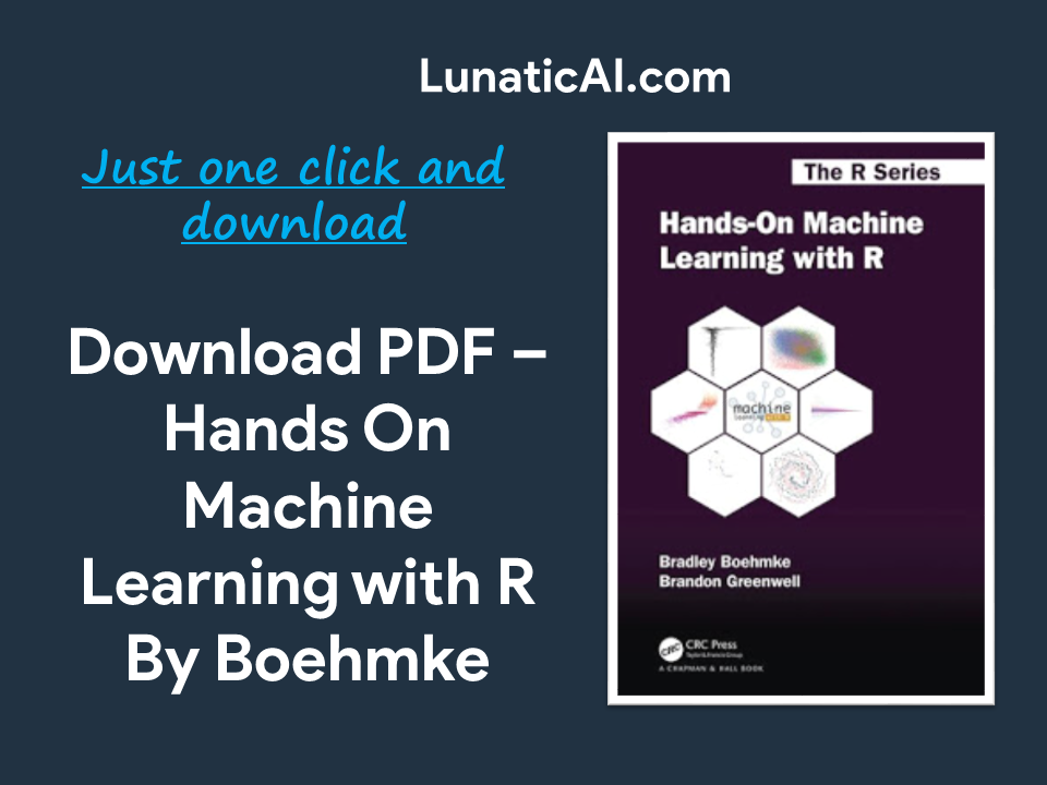 Hands-On Machine Learning with R Boehmke PDF