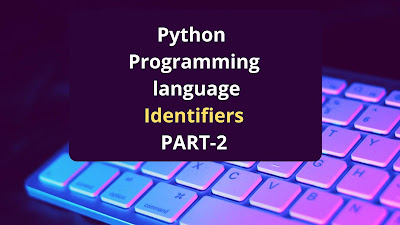 What is identifiers in python programming
