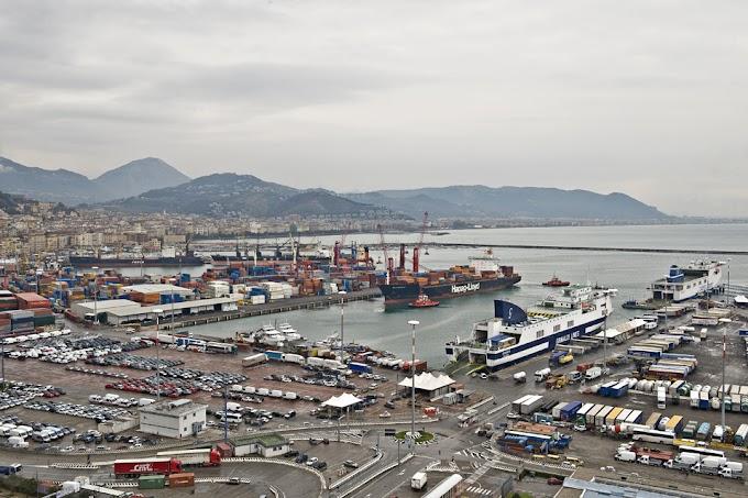 Incidente sul lavoro nel porto di Salerno: perde la vita operaio trentenne