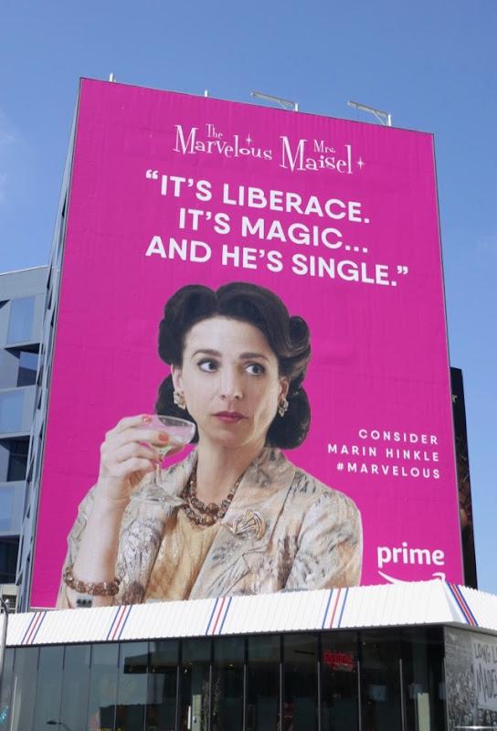 Liberace Mrs Maisel Emmy FYC billboard