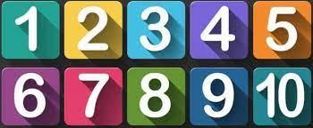 تعلم الأرقام باللغة التركية