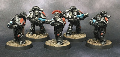 Horus Heresy Dark Angels Tactical Support Squad