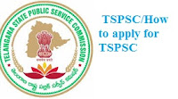 Tspsc How to apply