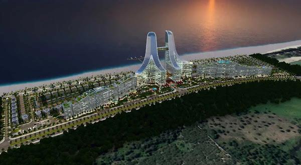 mặt bằng tổng thể dự án Charm Hồ Tràm