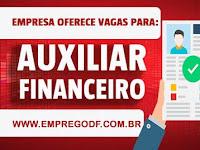 Emprego para Auxiliar Financeiro I (R$ 1.300,00)  - 06.06.19