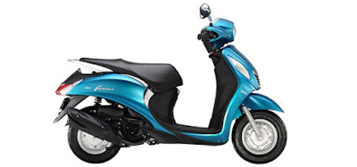 Yamaha Fascino scooter side profile image