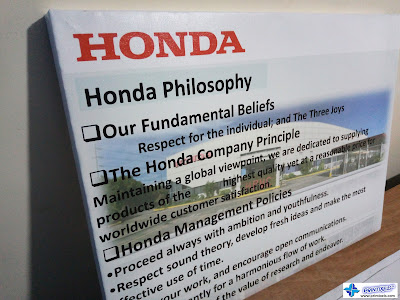 Canvas Print with Framing (Side View) - Honda Philippines