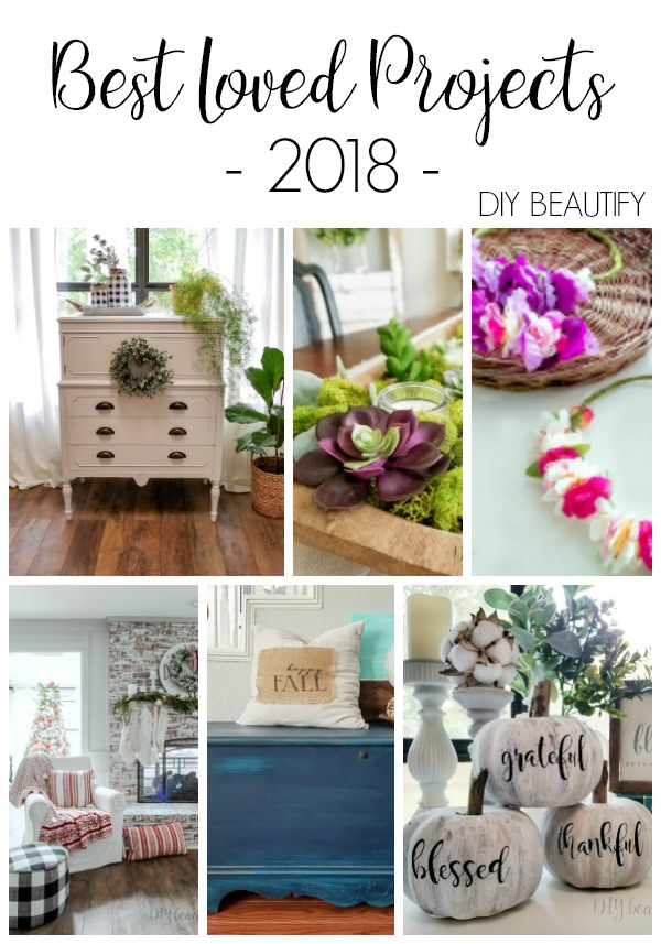 best home decor and diy projects of 2018 diy beautify