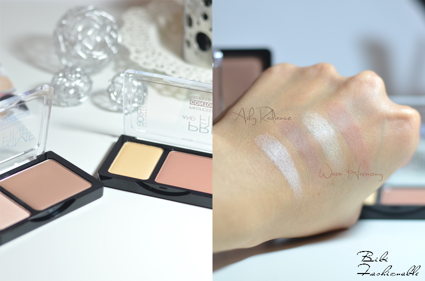 Catrice Prime and Fine Professional Contouring Palette offen Swatches