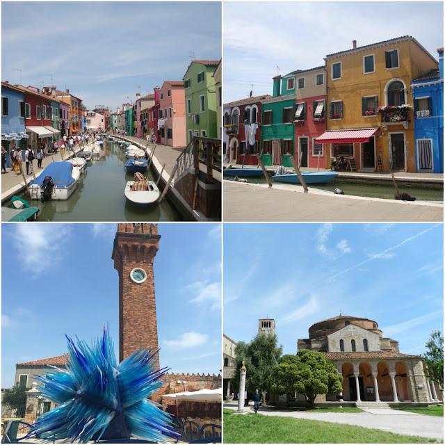 Roteiro completo - 22 dias no norte da Itália, com San Marino - Veneza (Burano, Murano e Torcello)