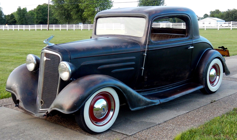 247 autoholic 1934 chevrolet coupe for 1934 chevrolet 5 window coupe