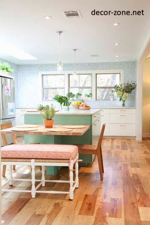 kitchen wallpaper patterns for large kitchens