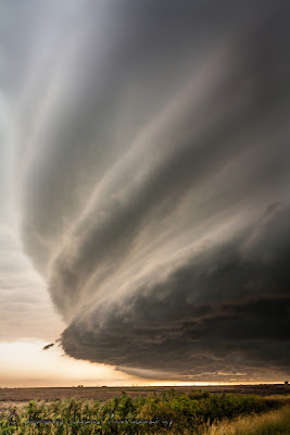 Scary and Amazing Structure of Supercell and Thunderstorms