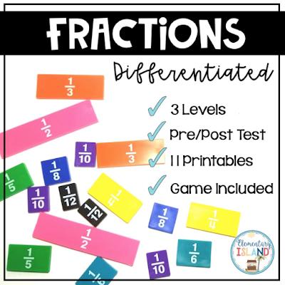 fraction worksheets and games