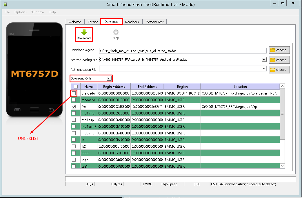 Cara Bypass FRP Akun Google Infinix Zero 5 X603 via SP